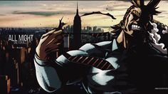 Image result for all might fanart