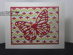Simple, Elegant Butterfly using Butterflies Thinlets