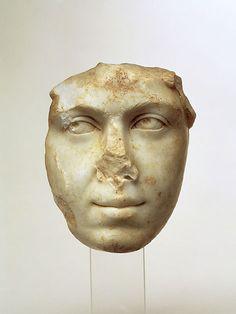 Julia Mamaea portrait, Severan period. C.E. 222-235.