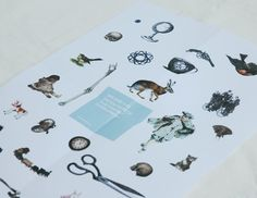 Reconstructing Collage by Resatio Adi Putra, via Behance
