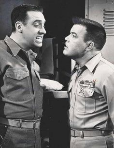 GOMER PYLE AND SGT. CARTER