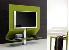 TV-Schrank Fernsehmöbel-grün Design-modern Ideen