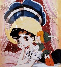 Artwork from Osamu Tezuka's Princess Knight, a title considered to be a pioneer for the shojou manga genre. Kawaii Anime, Manhwa, Manga Anime, Azumanga Daioh, Astro Boy, Archetypes, Comic Artist, Popular Culture, Manga To Read