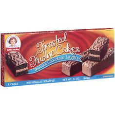 little debbie's   Little Debbie Snacks Frosted Fudge Cakes, 8ct