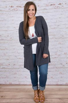 Chic and Simple Cardigan, Navy