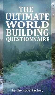 The Ultimate World Building Questionnaire is now live! Questions covering physics, politics, food, nature, trade and conflict and much more!