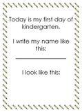 This Is Me In Kindergarten