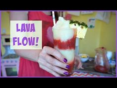 Lava Flow | Pinterest Drink #60 | MamaKatTV - YouTube