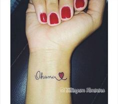 This Pin was discovered by Ece Cute Tiny Tattoos, Little Tattoos, Mini Tattoos, Small Tattoos, Cool Tattoos, Wrist Tattoos, Body Art Tattoos, Tattos, Ohana Tattoo