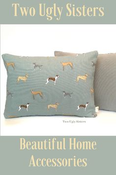 Back in Stock - Our popular rectangle Duck Egg Blue Cushion Covers with Whippets, Greyhounds and Lurcher fabric would make a lovely addition to your home come with a Feather Pad. Available in a choice of fabrics on the reverse, you can choose from an oatmeal/beige textured stripe or a co ordinating plain fabric. Whippet Dog, Dachshund, Duck Egg Blue Cushions, Blue Cushion Covers, Retro Caravan, Wedding Gifts For Groom, Lurcher, Woodland Theme, Playroom Decor