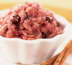 Advantages of quinoa and a quinoa dessert recipe