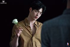 Seo Kang Joon and flowers Gong Seung Yeon, Seung Hwan, Sung Kyung, Joon Hyung, Hyung Sik, Seo Kang Jun, Seo Joon, Asian Actors, Korean Actors