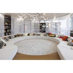 Shaw Uptown Girl -colored /Polyester Premium Shag Oversized Area Rug