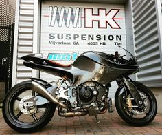 First Dutch carbon motorcycle.
