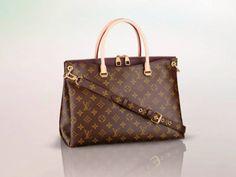 Louis Vuitton Quetsche Monogram Pallas Bag