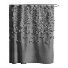 Lucia Shower Curtain In Gray