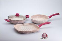 Le padelle Stone Rose di Bisetti sono su www.piustyle.com!
