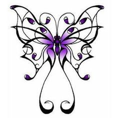 Butterfly tatoo by ~Ginerva16 on deviantART