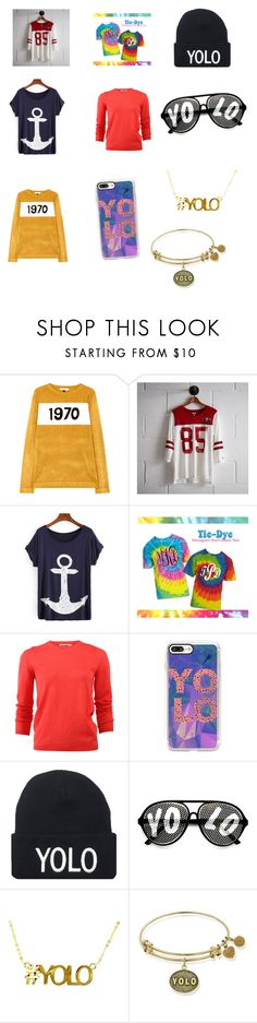 """""""#yolo Cleveland middle school spirit!!"""" by amberlyng ❤ liked on Polyvore featuring Bella Freud, Tailgate, Jil Sander, Casetify and ZeroUV"""