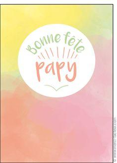 Carte Bonne f�te papy pour envoyer par La Poste, sur Merci-Facteur !