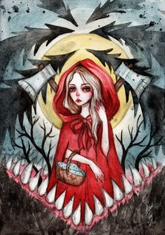 Little Red Riding Hood by BlackFurya.deviantart.com on @DeviantArt