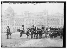 Photo of King Geo. at Trooping of Colors, May 1911
