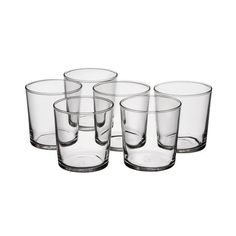 Medium sized glass that is perfect to drink from or to serve in. Can handle the transition from cold to hot and microwave heating but with a maximum of 100 degrees. Dishwasher and microwave safe. Microwave Heating, Smart Design, Shot Glass, Dishwasher, Tableware, Cl, Granite Counters, Intelligent Design, Dishwashers