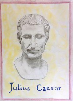 Age 12 ~ Roman History ~ Julius Caesar ~ main lesson book