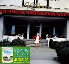 On DVD & VOD tomorrow 6/23! See Welcome to Kutsher's on Release Day: kutshersdoc.com! #KutshersForever