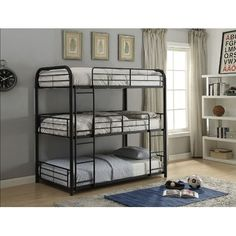 Bunk Beds for Small Rooms . Bunk Beds for Small Rooms. Bunk Beds Good Idea for Individual Lighting Shelf for Bunk Bed Diy, Bunk Bed With Trundle, Full Bunk Beds, Bunk Beds With Stairs, Kids Bunk Beds, Triple Twin Bunk Bed, Triple Bed, Triple Bunk Bed Metal, Vintage Loft