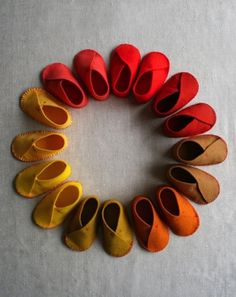 Felt Baby Slippers | 29 Easy And Adorable Things To Make For Babies