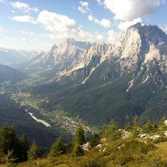Antelao e Val Boite dal monte Rite Dolomiti Veneto Italia by Nuovo Cadore