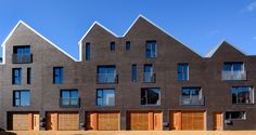 Beautiful brickwork for Little Kelham in Sheffield using Blockleys wirecut smooth bricks designed by Cal Architects