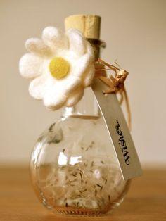 DANDELIONS - wishes in a bottle
