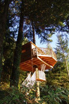Barcelona Treehouse Hotel - Cabanes als arbres
