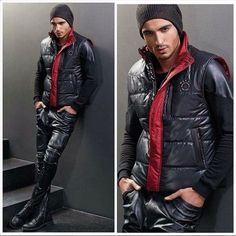 guys in leather pants. http://www.99wtf.net/young-style/urban-style/mens-ideas-dress-casually-fashion-2016/