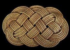 Larger Rope Rug Nautical Decor