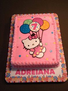 29 Ideas Birthday Cake Girls Kids Hello Kitty For 2019 Birthday Cakes Girls Kids, Niece Birthday Wishes, Cool Birthday Cards, Birthday Diy, Birthday Cupcakes, Birthday Presents, Hello Kitty Theme Party, Hello Kitty Birthday Cake, Hello Kitty Themes