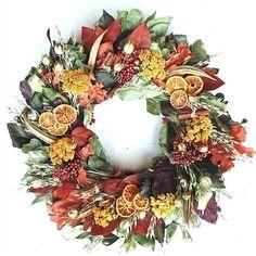 Found it at Joss & Main - Faux Thanksgiving Wreath