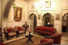 Sheesh mahal at Alsisar Haveli Jaipur  Das Alsisar Haveli Hotel in Jaipur