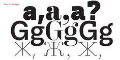 Trivia Serif™ - Desktop font « MyFonts
