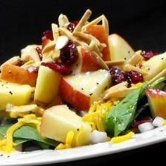 """Super Seven Spinach Salad I """"Super tasty and super easy to put together! A keeper for sure!"""""""