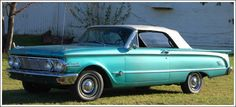 1964 Mercury Comet Convertible. My dad took one on trade and handed me the keys - I hated it. Of course it was not in this good of shape. Wish I had kept it.