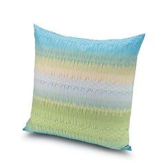SALENTO #170 CUSHION - MISSONI HOME at Spence & Lyda #cushions #spenceandlyda #missonihome #australia #sydney #cotton
