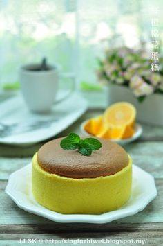 爱厨房的幸福之味: 鲜橙棉花蛋糕 Orange Cotton Cake
