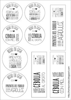 etiquetas para imprimir Printable Labels, Printable Stickers, Printables, Diy Gifts Coworkers, Coffee Logo, Diy Holiday Gifts, Sin Gluten, Food Inspiration, Packaging