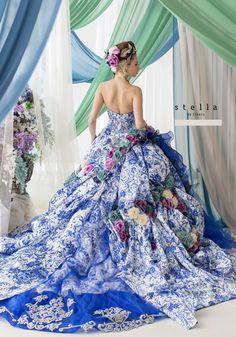 ステラ | ブランド | ブライダルハウス六本木   Stella de Libero Beautiful Costumes, Beautiful Gowns, Beautiful Outfits, Bridal Gowns, Wedding Gowns, Fairytale Gown, Fantasy Gowns, Gown Pattern, Mode Chic