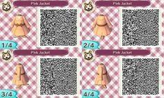 Pink Jacket QR Code