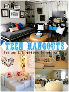 Ten Teen Hangout Areas Your Kids (and Their Friends) Will Love Creswell  Cummings, Teenage Boys Bedroom Ideas