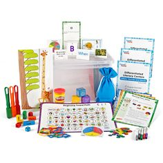 Shop Differentiated Literacy Center Grade K and other Literacy products at – a leading online provider of manipulatives and educator resources for PreK through grade. Reading Comprehension Activities, Book Activities, Middle School Science, Elementary Science, Education Quotes For Teachers, Teacher Resources, Phonemic Awareness Activities, High School History, Kindergarten Reading